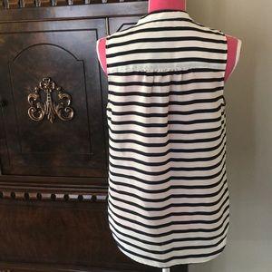 J. Crew Tops - ⚓️J. CREW⚓️ nautical striped blouse